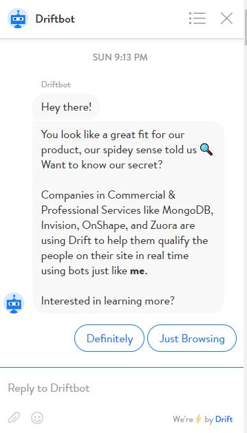 driftbot_chatbot_example_1