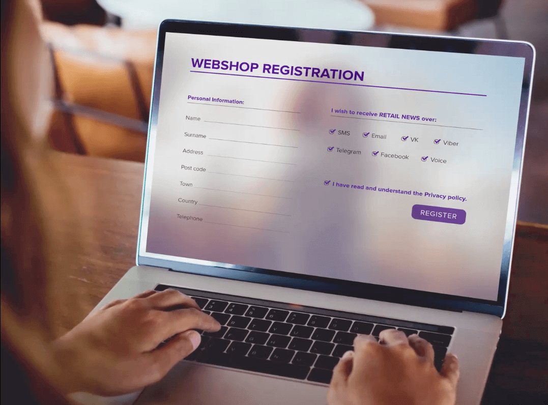 unified_customer_experience_in_ecommerce_webshop_registration