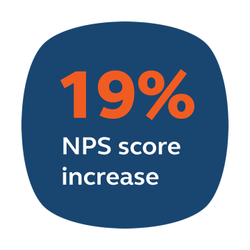 WhatsApp Business API increased Raiffeisen NPS score by 19%