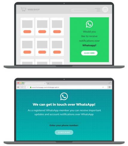 whatsapp-business-landing-page-opt-in