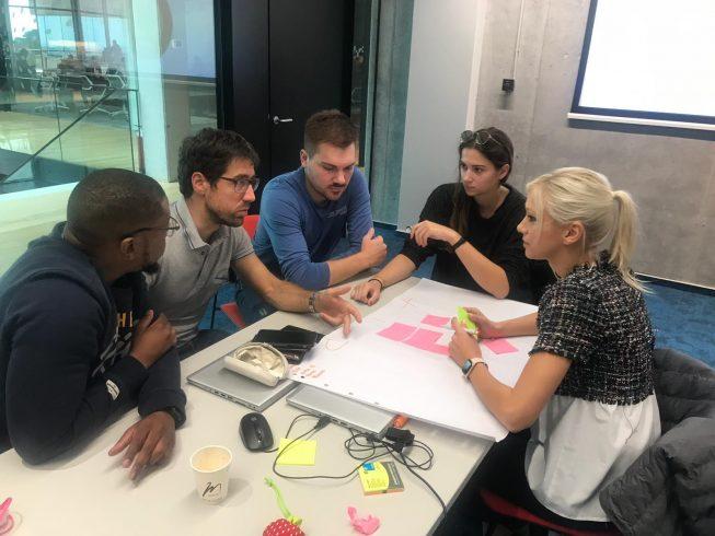 infobip presales engineers brainstorming