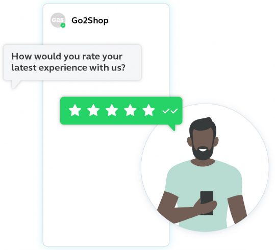 Example of conversational commerce on WhatsApp