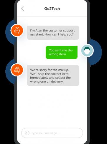 Customer support chatbots