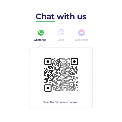 Example of Laqo's chat with us page